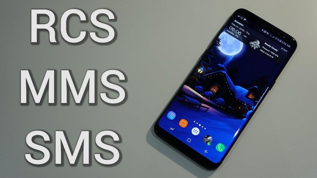 RCS MMS SMS